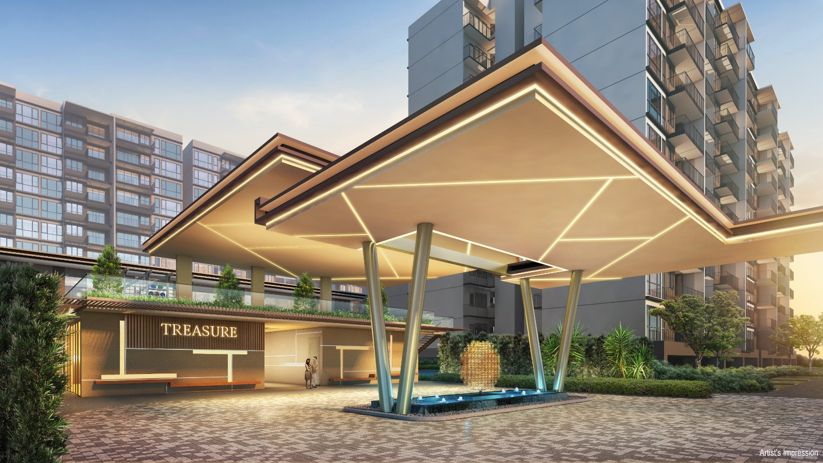 Treasure AT Tampines Artist Impression